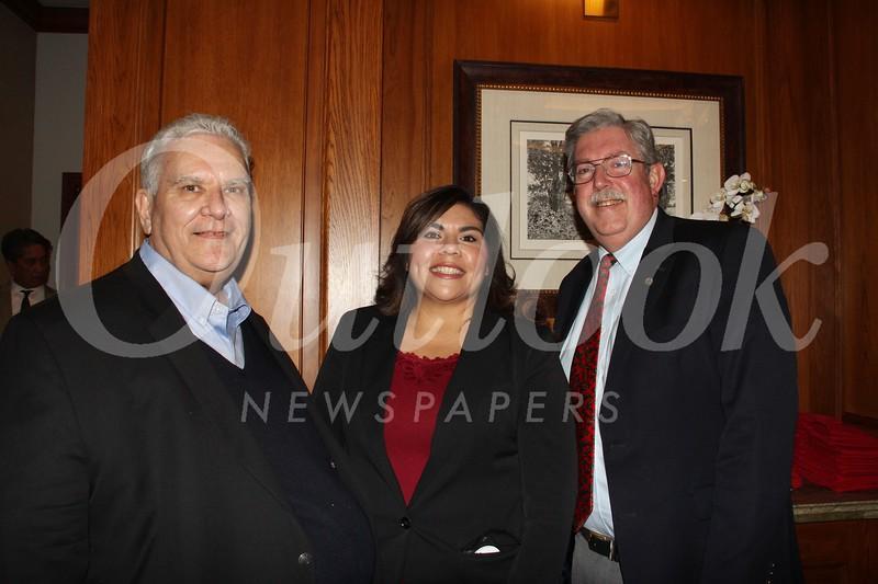 Paul DeJoseph, Dolores Ybarra and Mark Harmsen