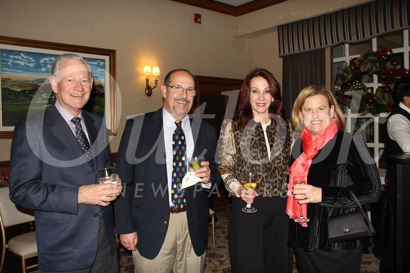 Ken Stroud, Michael Bush, Linda Stroud and PCC President Erika Endrijonas