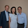 Lonnie Schield with Julia and Jonathan Chang