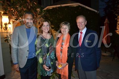 DSC_ Bill Hawkins and Jill Barnes with Lorraine and Lonnie Shield 1246