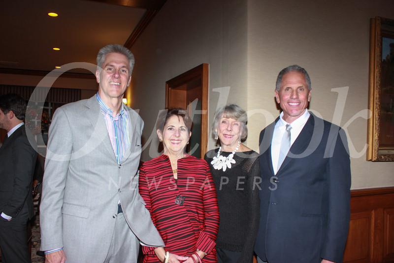 0878 Bill Davis, Diane Rankin, Marylou Boone and Nick Boone