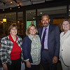 Gloria Pitzer, PCC President Erika Endrijonas, Foundation Board President Bill Hawkins and Executive Director Bobbi Abram