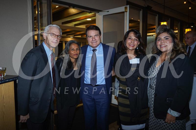 Ralph and Anya Frammolino, Tony Fellow and Clara Potes-Fellow, and Dolores Ybarra