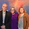 Joe Futtner, Sigrid Burton and Foundation Executive Director Bobbi Abram