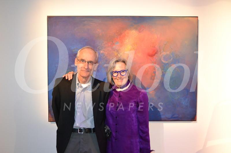 Joe Futtner and Sigrid Burton