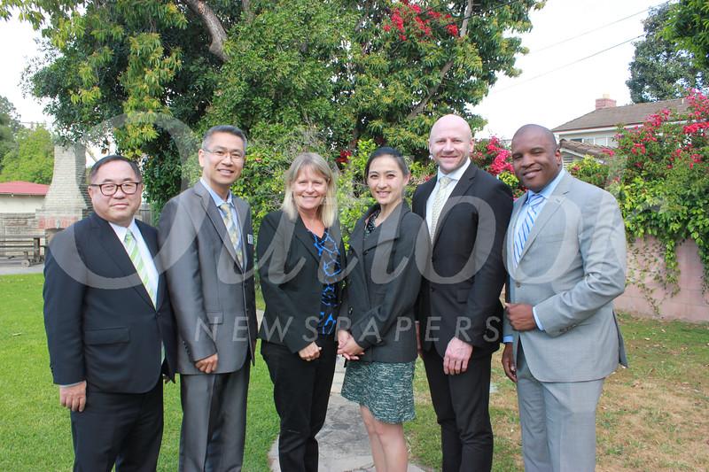 C. Joseph Chang, Michael Lin, Lisa Link, Soo Min Chao, Jason Kurtenbach and Issaic Gates
