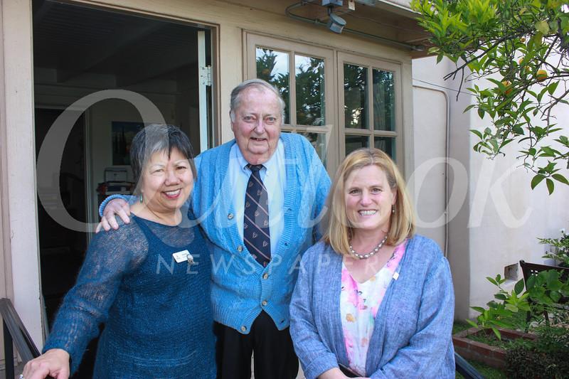 Linda Wah, Ken Veronda and Erika Endrijonas