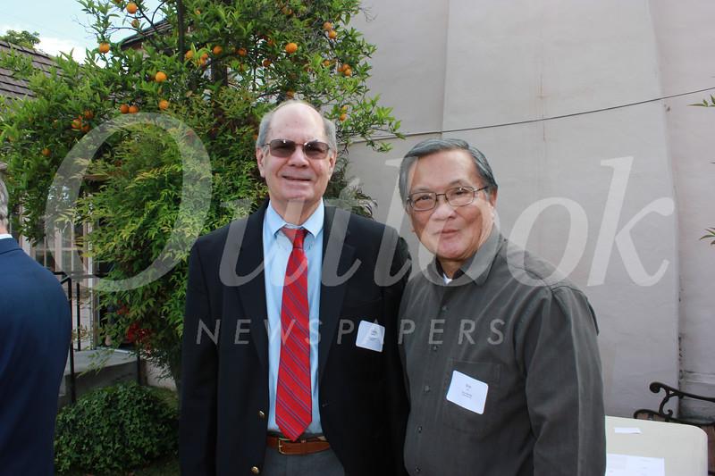 Chris Norgaard and Bob Gin