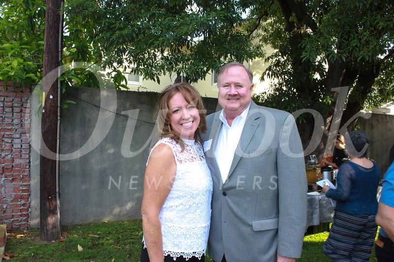 Pamela Williams and Tod Burnett