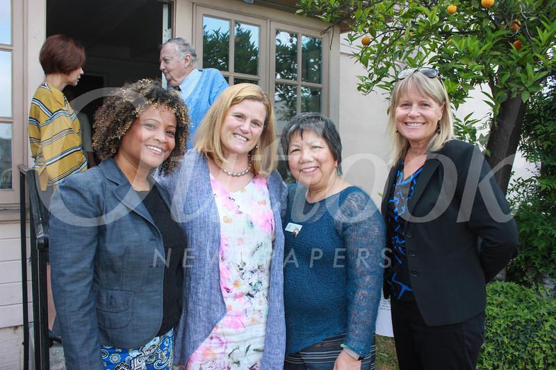 Felicia Williams, Erika Endrijonas, Linda Wah and Lisa Link