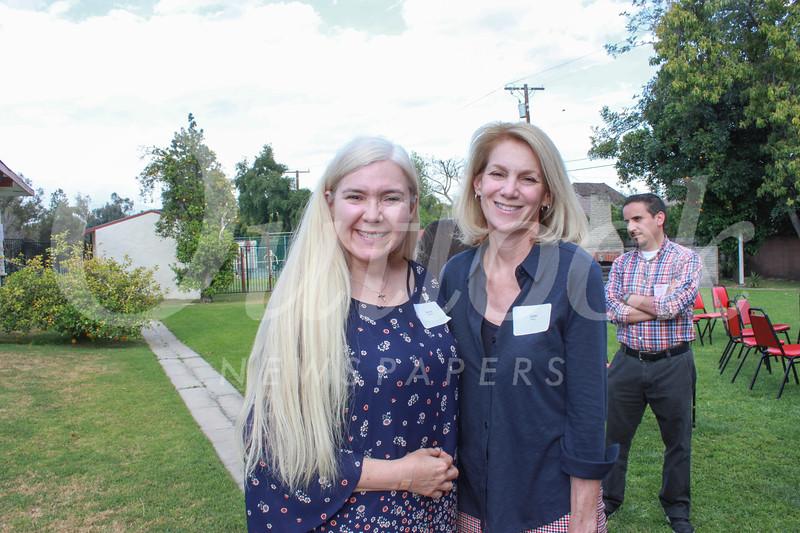 Denise Wadsworth and Lizze Slocum