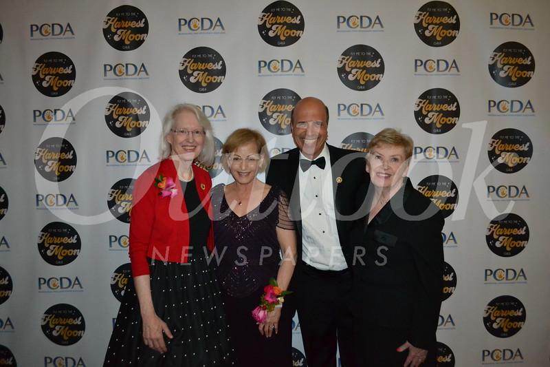 Diane Cullinane, Mimi Winer, Darryl Dunn and board chair Judy Wilson