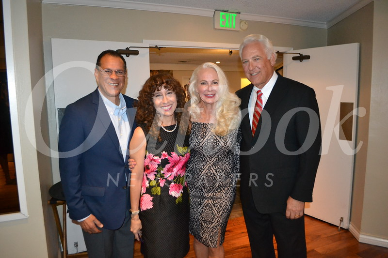 Tomas Lopez and Laura Farber with Angel and Jeff Throop