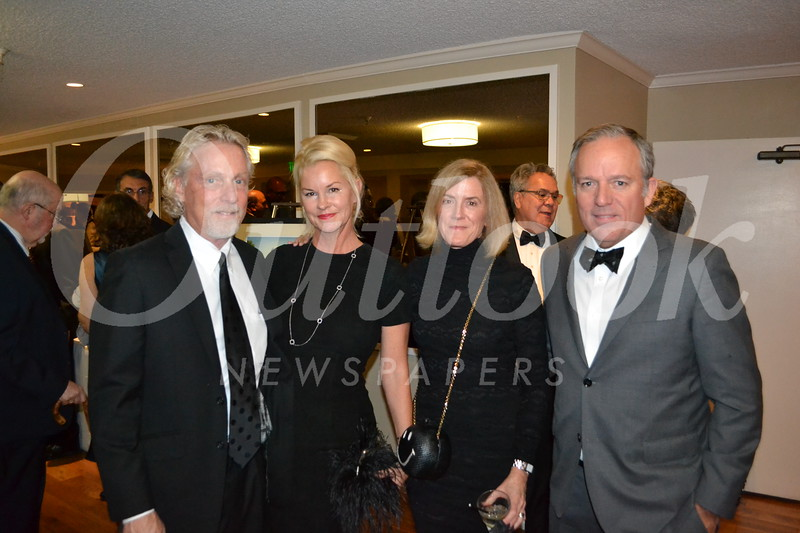 Steve and Sally Mann with Gretchen Seager and Louis Gutierrez