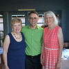 New PCDA board chair Judy Wilson, Deputy Executive Director Christopher Perri and Executive Director Dr. Diane Cullinane