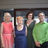 Dr. Diane Cullinane, Judy Wilson, Julie Miller and Christopher Perri