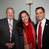 PEF Executive Director Patrick Conyers, Lori Touloumian and Robert Hernandez