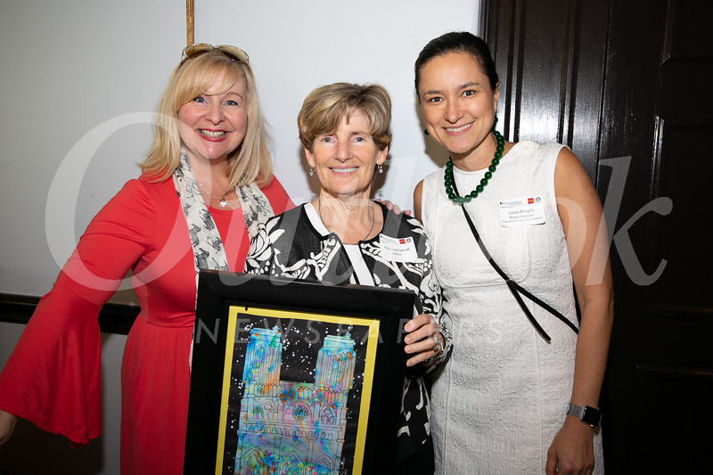 Benita Scheckel, Mary Lea Carroll and Luisa Rengifo