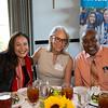 Lori Touloumian, Jane Kaczmarek and PUSD Superintendent Brian McDonald