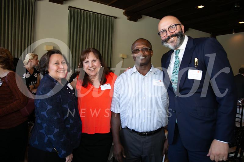 Elizabeth Blanco, Rita Esposito, Michael Bell and A. Paul Kurkjian