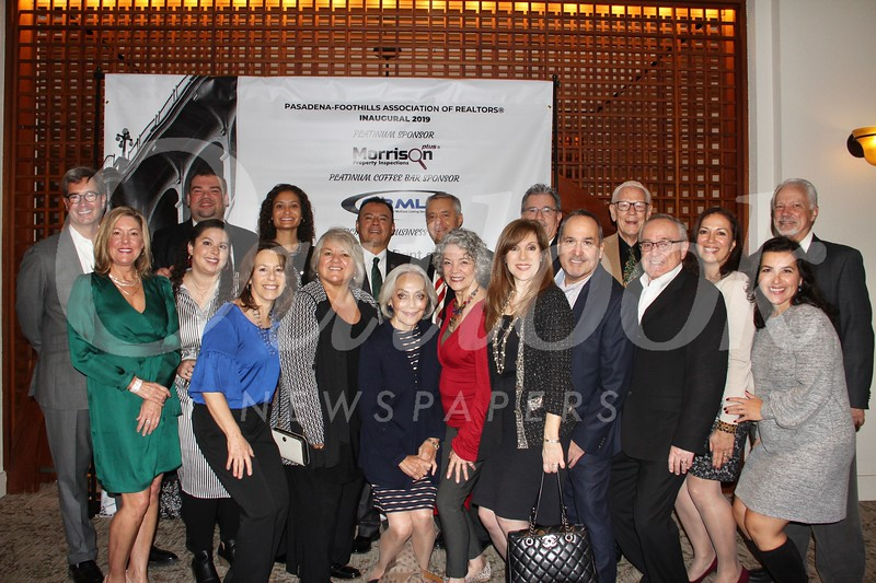 Michele Giffin (front row, from left), Rachel Anderson, Diane Scalzo, Jules Ibrao, Rob Weise, Peggy Vaccaro, Margaret Garemore, Ed Afsharian, Enrique Lizarazu and Victoria Tabakian. Back: George Penner, Nick Frias, Neha Jespersen, Eddie Ramirez, Todd Hays, Alex Velasco, Dick and Bia Kasten, and Bill Derrick.