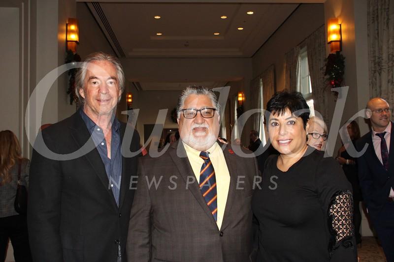 Gregg Smith, state Sen. Anthony Portantino and Aida Dimejian