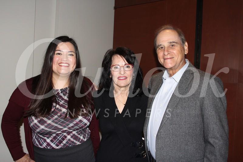 Hilda Hernandez, Marilyn Simon and Lane Aronson