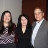 Hilda Hernandez, Marilyn Simon and Lane Aronson