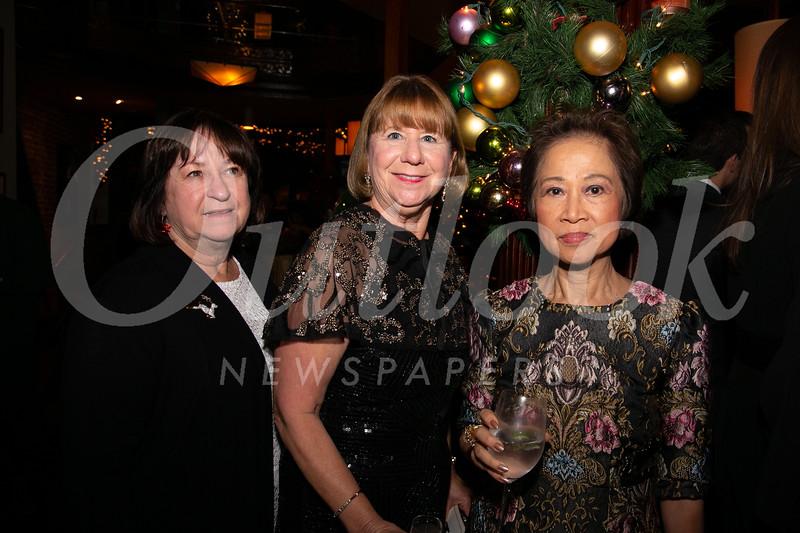 Rebecca Harris, Marlene Evans and Cordelia Wong
