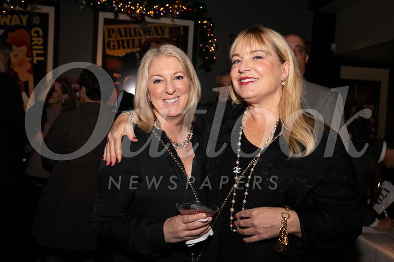 Suzy Hazel-Oppenborn and Anne Sanborn