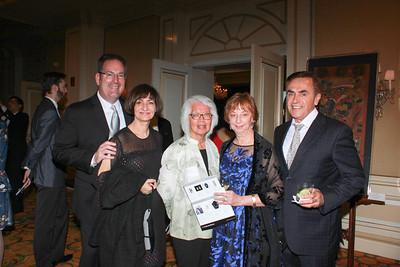 Randy and Mona Shulman, Margaret Leong-Checca, Christina Dreyer and Stephen Biskup