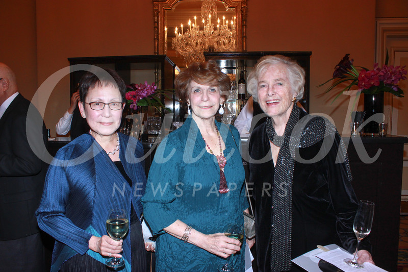 June Li, Karen Lawrence and Anne Blomstrom