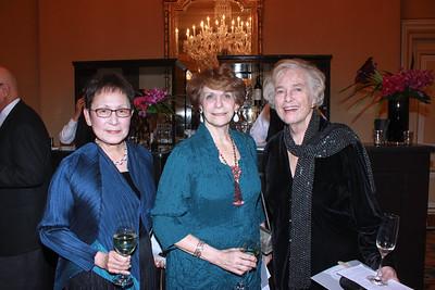 June Li, Karen Lawrence and Anne Blomstrom
