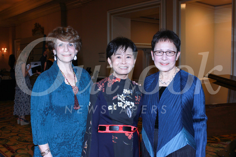 Karen Lawrence, Mei-Lee Ney and June Li