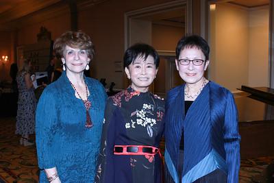 Karen Lawrence, Mei-Lee Ney and June Li