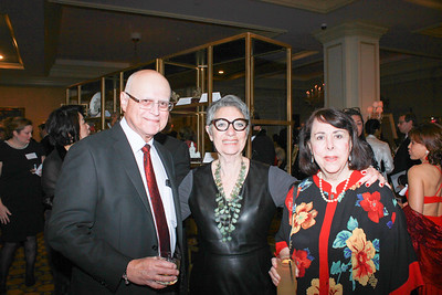Dr. Lewis Barth, Selma Holo and Dr. Joye Weisel Barth