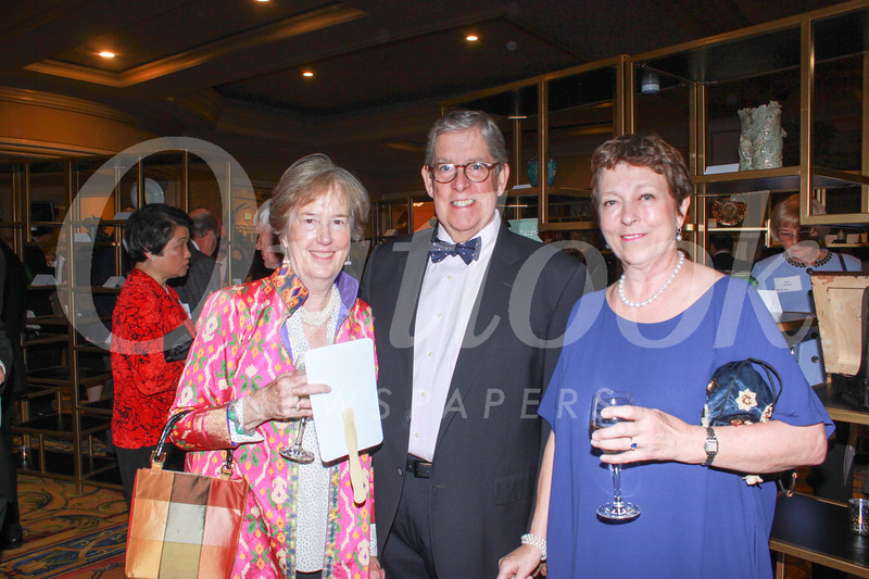 Joan and Mike Cathcart with Charlotte Harrison
