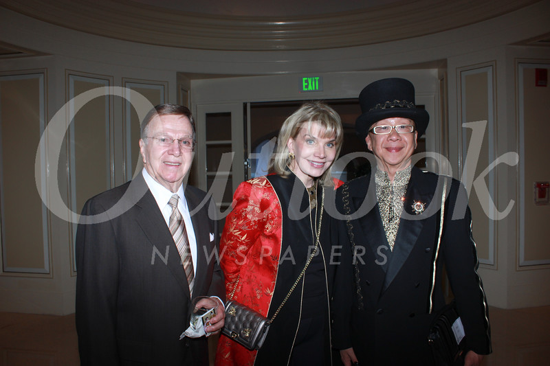 Harry Hathaway, Nancy Davis and Peter Lai