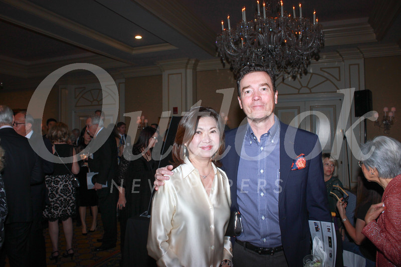 Marina Chang and Orrin Shively