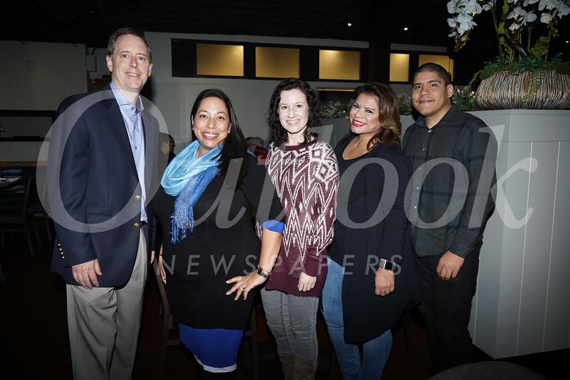 Evan Hitchcock, Allison Fuller, Lindsay Hallin, Cecelia Ramirez and Anthony Diaz