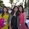 Arlene Wei, Jackie Alvarez and Vivian Yuan