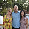 Sara Simmonds with Marco and Joanne Valverde