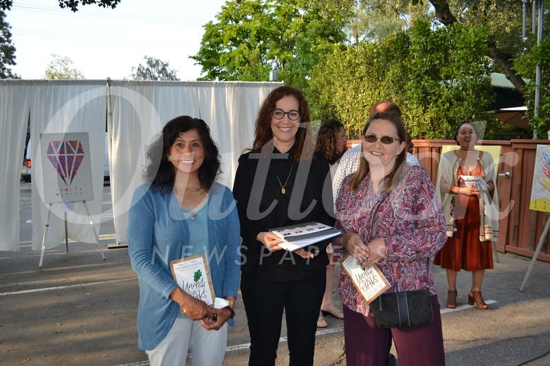 Norma Nakamura, Barbara Park and Suzanne Duarte