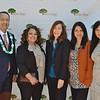 Pacific Oaks College & Children's School President Jack Paduntin with student government association members Rosalba Estrella, Lisa Moss, Darlene Shicarenko and Melissa Valle