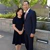 New President Dr. Jack Paduntin and his wife, Yuki Mun