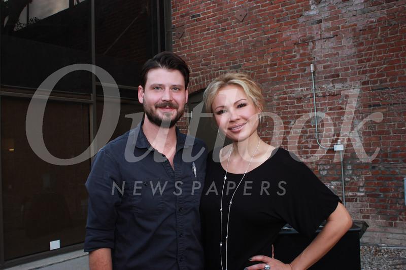 Alex Yoka and Melissa Ardine