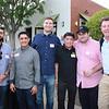 Joseph Castaneda, Alex Lozano, Jordan Partington, Don Cruz, Ted Segal and Nick Segal