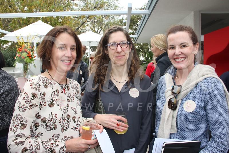 Patricia Bischetti, Emily Zaiden and Annaly Bennett