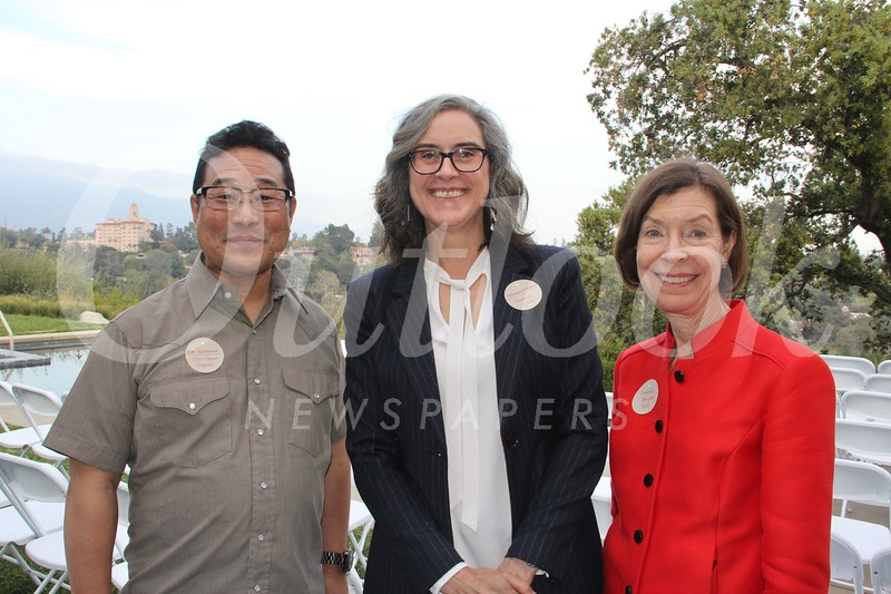 Alan Nakagawa, Rebecca McGrew and Christine Bender