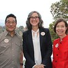 Alan Nakagawa, Rebecca McGrew and Christine Bender